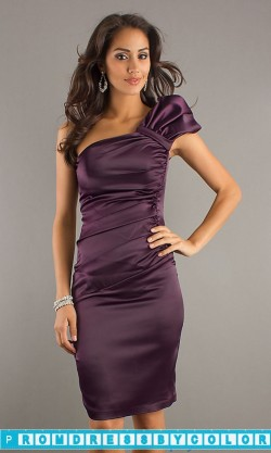 $148 Red Prom Dresses – One Shoulder Formal Dress by Atria at www.promdressbycolor.com