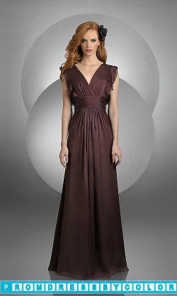 $101 Red Prom Dresses – Ruffle Sleeve Bridesmaid Dress by Bari Jay at www.promdressbycolor.com