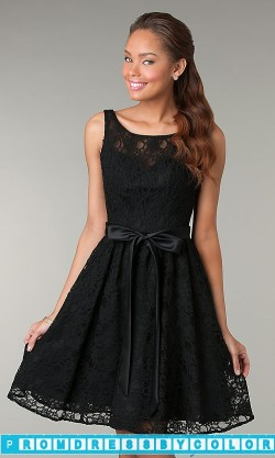 $174 Red Prom Dresses – Short Sleeveless Lace Dress at www.promdressbycolor.com