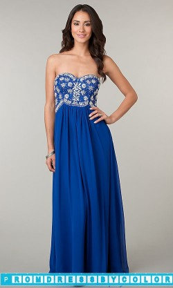 $184 Red Prom Dresses – Strapless Sweetheart Floor Length Dress at www.promdressbycolor.com