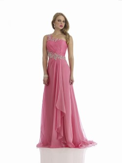 $171 Red Prom Dresses – Sweetheart Court Train A Line Chiffon Pink Evening Dress at www.promdressbycolor.com