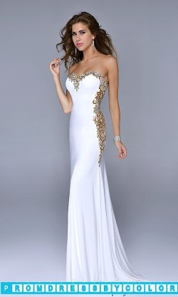 $183 Red Prom Dresses – Elegant Strapless Sweetheart Gown at www.promdressbycolor.com