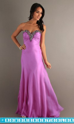$149 Red Prom Dresses – Floor Length Strapless Prom Dress by Night Moves 6694 at www.promdressbycolor.com