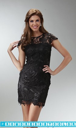 $149 Red Prom Dresses – Little Black Lace Dress at www.promdressbycolor.com