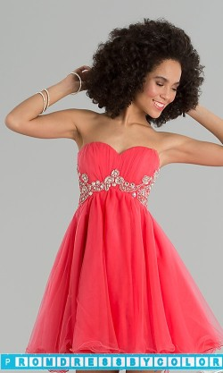 $149 Red Prom Dresses – Short Strapless Sweetheart Dress at www.promdressbycolor.com