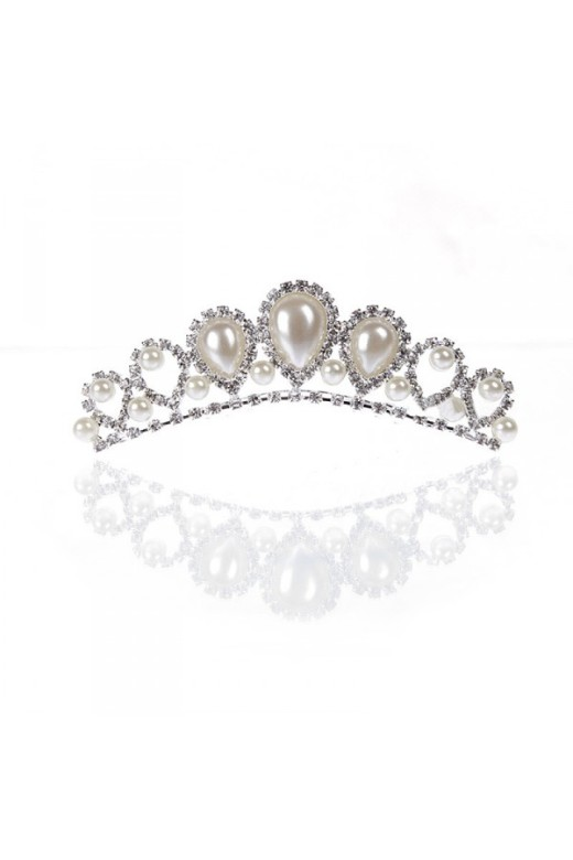 Floral Crystal & Pearl Bridal Necklace Earring Set – Wedding Tiaras – Accessories