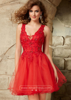 Beautiful 2015 Red Straps V Neck Beaded Lace Layered Homecoming Dress [Mori Lee 9348 Red] – $182.00 : Prom Dresses 2015,Wedding Dresses & Gowns On Sale,Buy Homecoming Dresses From Ailsadress.com