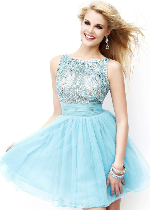 Aqua Deep V Back Beaded Cute High Neck Short Homecoming Dress [Sherri Hill 11032 Aqua] – $206.00 : Short Homecoming Dresses For Party From www.homecoming2016.com
