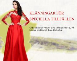 Balklänningar, Bröllopsklänningar, Festklänningar 2015 Online – Angelamall