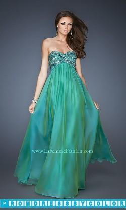 183 Black Prom Dresses – Elegant Long Strapless Gown by La Femme at www.promdressbycolor.com
