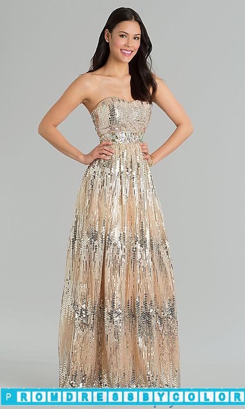 204 Black Prom Dresses – Floor Length Strapless Sweetheart Dress at www.promdressbycolor.com
