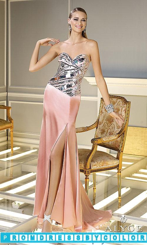 203 Black Prom Dresses – Full Length Strapless Sweetheart Dress at www.promdressbycolor.com