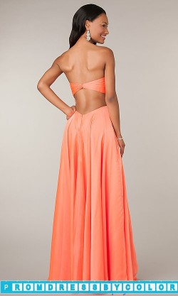145 Black Prom Dresses – Long Strapless Open Back Gown at www.promdressbycolor.com