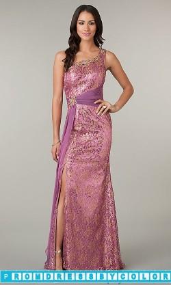 184 Black Prom Dresses – One Shoulder Floor Length Sequin Dress at www.promdressbycolor.com
