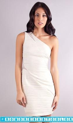 177 Black Prom Dresses – Short One Shoulder Dress at www.promdressbycolor.com