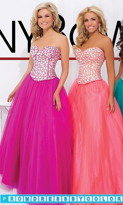 213 Black Prom Dresses – Strapless Sweetheart Ball Gown by Tony Bowls at www.promdressbycolor.com