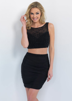 Black Two Piece Beaded Keyhole Back Jersey Short Party Dress 2015 [Blush C319 Black] – $180.00 : Hot Trends Homecoming Dresses,Prom Dress,Wedding Dress,Bridesmaid Dresses,Prom Shoes For Prom & Homecoming 2015 On Sale