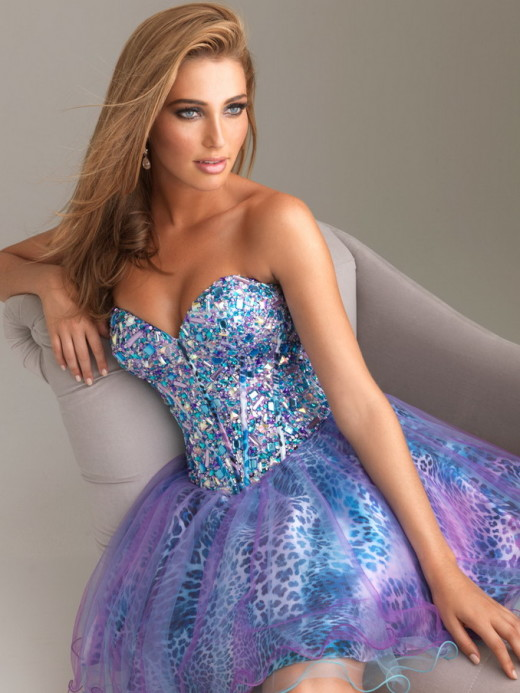 Blue Purple Corset Back Corset Back Leopard Beaded Homgcoming Dress [Night Moves 6496 Blue Purple] – $198.00 : Short Homecoming Dresses For Party From www.homecoming2016.com