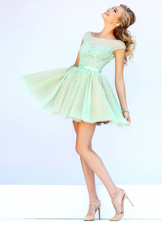 Cap Sleeves High Illusion Neck Green Nude Winter Formal Dress [Sherri Hill 11267 Green Nude] – $186.00 : Hot Trends Homecoming Dresses,Prom Dress,Wedding Dress,Bridesmaid Dresses,Prom Shoes For Prom & Homecoming 2015 On Sale