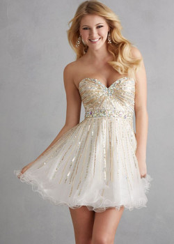 Cheap Ivory Crystal Sequined Strapless Tulle Short Prom Dress [Night Moves 7201 Ivory] – $192.00 : Buy Homecoming Dresses 2015 Online,60% off Dresses For Prom,Bridesmaid Dresses,Prom Shoes,Summer Dresses & Sunglasses 2015 at Thepromtrend2015.com