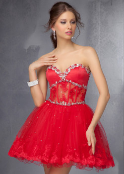 Cheap Red Strapless Beaded Lace Homecoming Dress 2014 [Mori Lee 9272 Red] – $190.00 : Buy Homecoming Dresses 2015 Online,60% off Dresses For Prom,Bridesmaid Dresses,Prom Shoes,Summer Dresses & Sunglasses 2015 at Thepromtrend2015.com