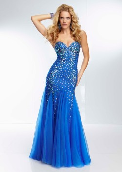 Cheap Sparkly Beaded Strapless Royal Mesh Long Prom Gown [Mori Lee 95009 Royal] – $236.00 : Buy Homecoming Dresses 2015 Online,60% off Dresses For Prom,Bridesmaid Dresses,Prom Shoes,Summer Dresses & Sunglasses 2015 at Thepromtrend2015.com