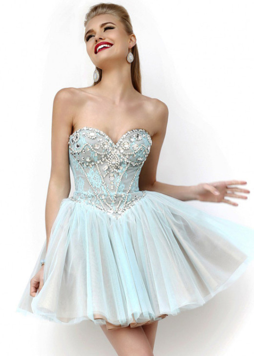 2015 Fashion Fitted Beaded Lace Aqua A Line Short Cocktail Dress [Sherri Hill 21156 Aqua] – $190.00 : Short Homecoming Dresses For Party From www.homecoming2016.com