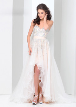 Ivory Sweetheart Beaded Tulle Fitted High Low 2015 Prom Dress [Tony Bowls Paris 115702] – $203.00 : Buy Homecoming Dresses 2015 Online,60% off Dresses For Prom,Bridesmaid Dresses,Prom Shoes,Summer Dresses & Sunglasses 2015 at Thepromtrend2015.com