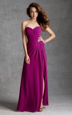 Best Multicolour Long Bridesmaid Dress BNNAJ0004