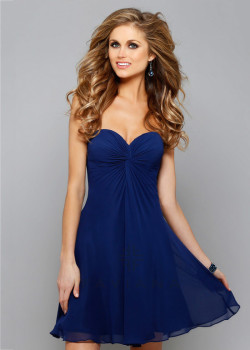 Navy Flirty Strapless Lace Up Back Empire Bust Short Bridesmaid Dress [Faviana 7650 Navy] – $136.00 : Buy Homecoming Dresses 2015 Online,60% off Dresses For Prom,Bridesmaid Dresses,Prom Shoes,Summer Dresses & Sunglasses 2015 at Thepromtrend2015.com