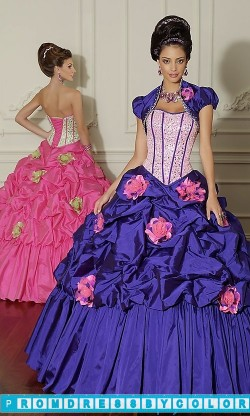 389 Red Prom Dresses – Beaded Taffeta Quinceanera Dress by Mori Lee at www.promdressbycolor.com