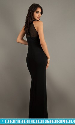 149 Red Prom Dresses – Floor Length Black Sleeveless Dress at www.promdressbycolor.com