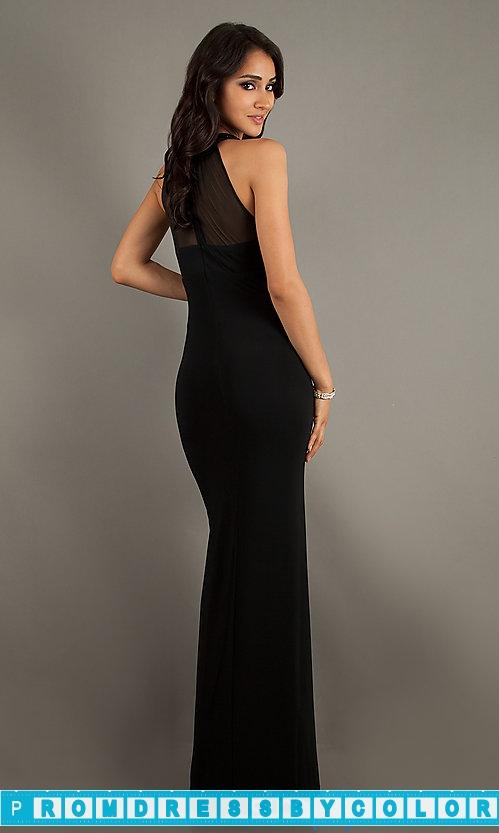 149 Red Prom Dresses – Floor Length Black Sleeveless Dress at www.promdressbycolor.com