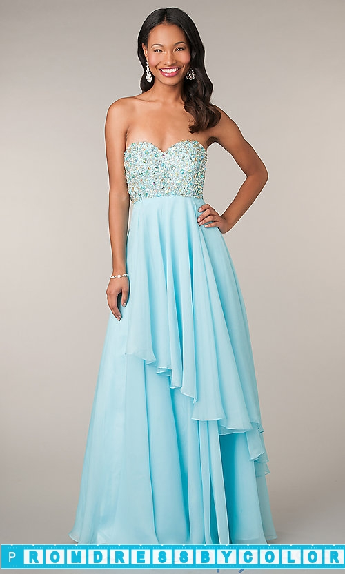 173 Red Prom Dresses – Long Strapless Alyce Prom Dress at www.promdressbycolor.com
