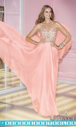203 Red Prom Dresses – Long Strapless Prom Dress by Alyce Paris 6227 at www.promdressbycolor.com