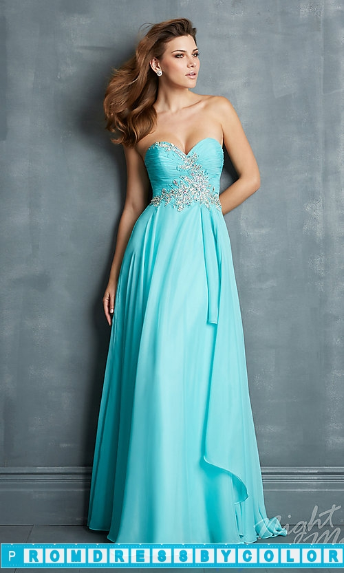 175 Red Prom Dresses – Night Moves Strapless Sweetheart Dress at www.promdressbycolor.com