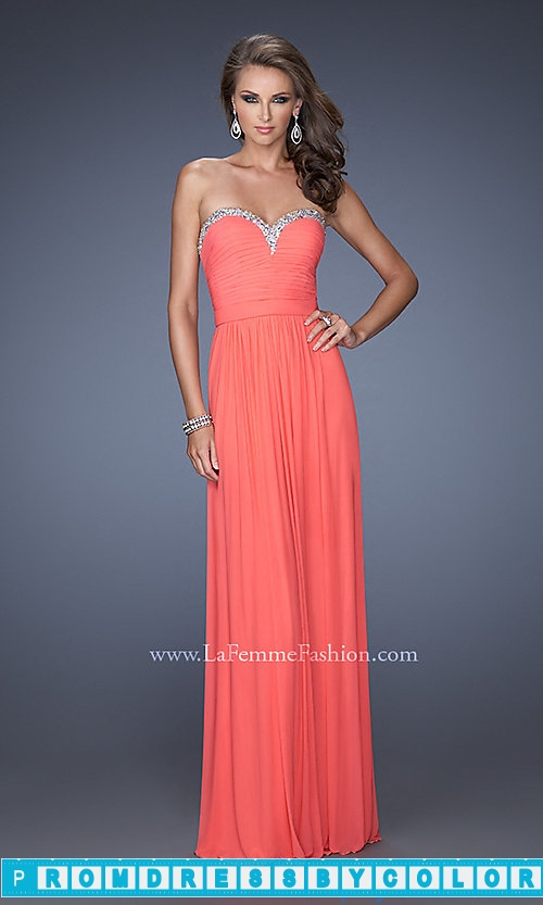 173 Red Prom Dresses – Strapless Sweetheart Formal Gown at www.promdressbycolor.com