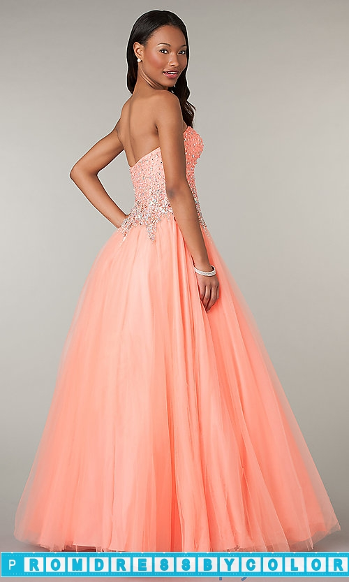 195 Red Prom Dresses – Strapless Sweetheart Full Length Dress at www.promdressbycolor.com