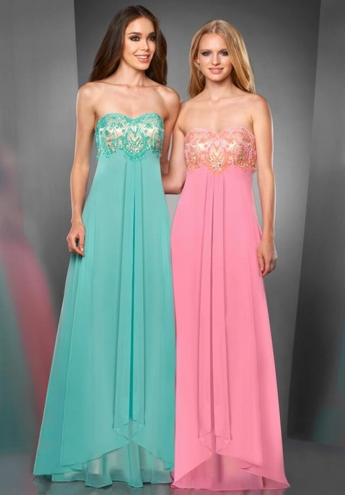 179 Red Prom Dresses – Sweep Train Chiffon Princess Sweetheart Pink Evening/Military Ball Dress at www.promdressbycolor.com