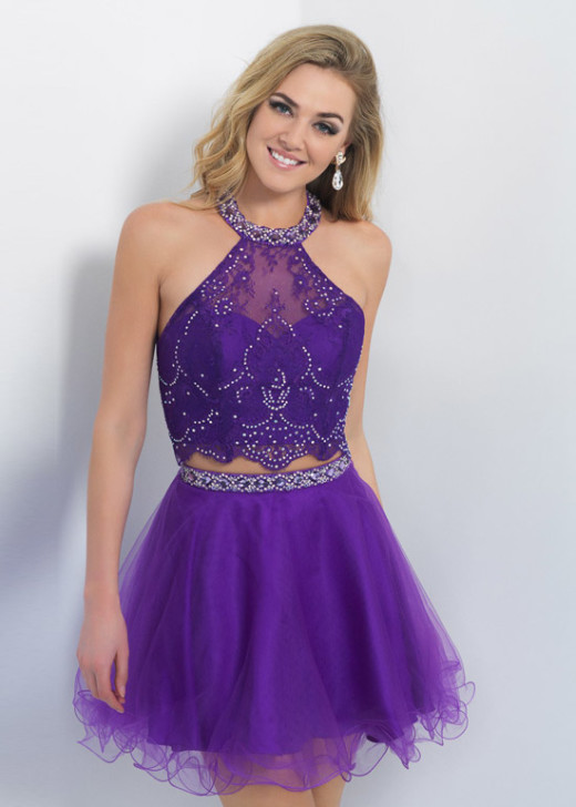 Short Two Piece Tulle Halter Beaded Crop Top Plum Prom Dress 2015 [Intrigue 83 Plum] – $175.00 : Buy Homecoming Dresses 2015 Online,60% off Dresses For Prom,Bridesmaid Dresses,Prom Shoes,Summer Dresses & Sunglasses 2015 at Thepromtrend2015.com