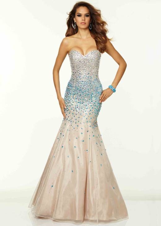Strapless Beaded Corset Back Nude Turquoise Mermaid Dress [Mori Lee 97050 Nude Turquoise] – $249.00 : Buy Homecoming Dresses 2015 Online,60% off Dresses For Prom,Bridesmaid Dresses,Prom Shoes,Summer Dresses & Sunglasses 2015 at Thepromtrend2015.com