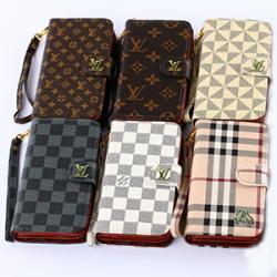 ルイヴィトン iPhone6s plus ケース 5.5インチ 手帳型 アイフォン6sケース 革製 グッチ