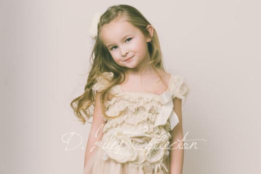Rustic sash and Eloise dress