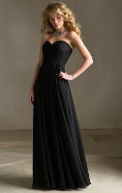 KissyBridesmaid: Long & Short Black Bridesmaid Dresses