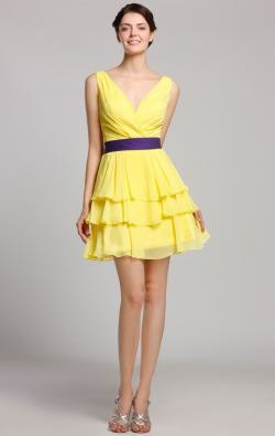 pale yellow bridesmaid dress – kissybridesmaid