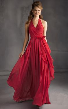 Red Bridesmaid Dresses UK, Cheap Dresses UK-QueenieBridesmaid