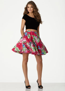 Cute Two Piece Black Velvet Top Berry Floral Printed Homecoming Dress [Mori Lee 33014 Black Berry Flora] – $168.00 : Cute Homecoming Dresses By The Hottest Trendy Designer,Ailsa Dresses,Cheap Bridesmaid Dresses, Plus Size Dress,Short Homecoming Dresses For Party From www.homecomings2016.com