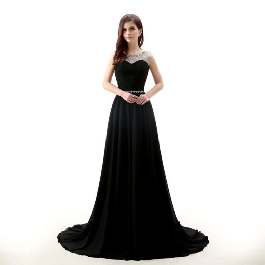 Elegant Black Lace Sheer Beaded Strapless Sash Draped Jersey Prom Dress [17026] – $129.00 : Unique Designer Women's Clothing & Dresses Shop Online Now For Affordable Styles – Ailsaclothing.com