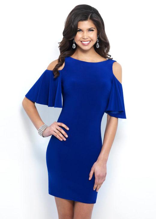 Chic Draped Short Sleeves Fitted Cobalt Jersey V Back Homecoming Dress [Blush C416 Cobalt] – $155.00 : Prom Dresses 2017,Wedding Dresses & Gowns On Sale,Buy Homecoming Dresses From Ailsadresses.com