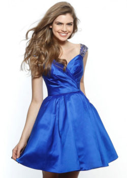 2017 Cute Beaded Straps Sweetheart Flare A Line Royal Cocktail Dress [Sherri Hill 51389 Royal] – $188.00 : Prom Dresses 2017,Wedding Dresses & Gowns On Sale,Buy Homecoming Dresses From Ailsadresses.com